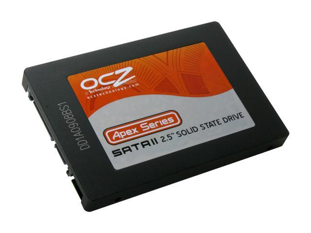 """OCZ Apex Series 2.5"""" 120GB SATA II MLC Internal Solid State Drive (SSD) OCZSSD2-1APX120G"""