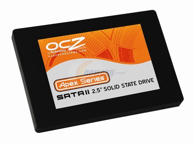 """OCZ Apex Series 2.5"""" 250GB SATA II MLC Internal Solid State Drive (SSD) OCZSSD2-1APX250G"""