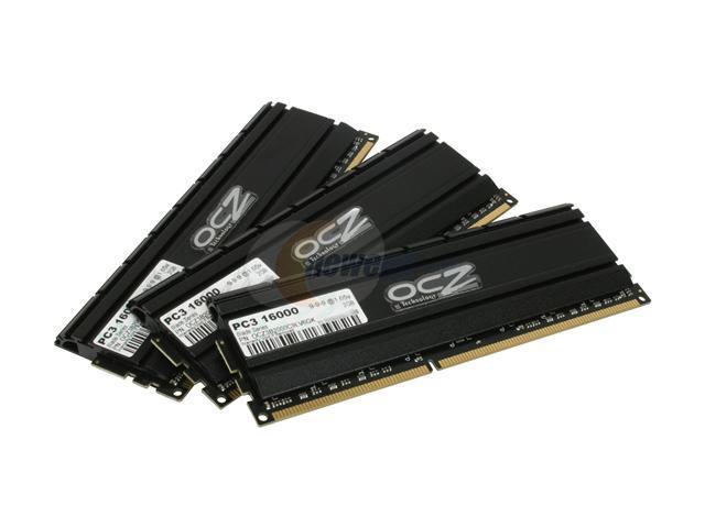 OCZ Blade Series 6GB (3 x 2GB) 240-Pin DDR3 SDRAM DDR3 2000 (PC3 16000) Desktop Memory Model OCZ3B2000C9LV6GK