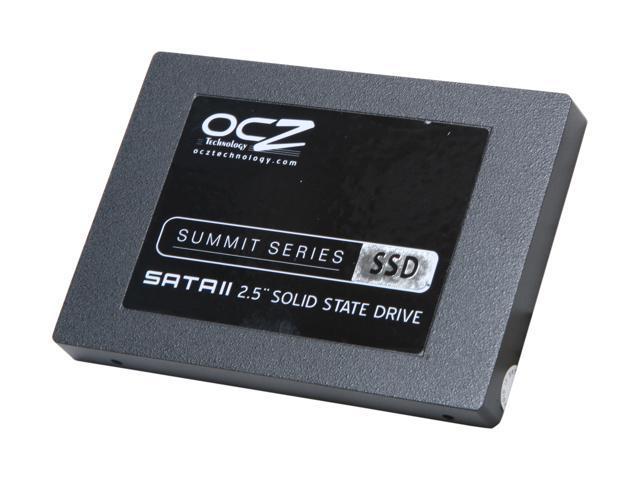 """OCZ Summit 2.5"""" 120GB SATA II MLC Internal Solid State Drive (SSD) OCZSSD2-1SUM120G"""