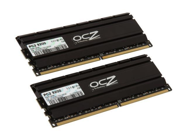 OCZ Blade Series 4GB (2 x 2GB) 240-Pin DDR2 SDRAM DDR2 1150 (PC2 9200) Low Voltage Desktop Memory Model OCZ2B1150LV4GK