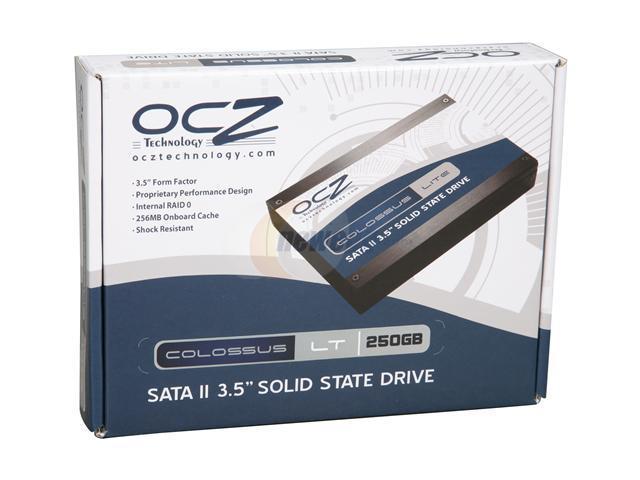 """OCZ Colossus LT Series 3.5"""" 250GB SATA II MLC Internal Solid State Drive (SSD) OCZSSD2-1CLSLT250G"""