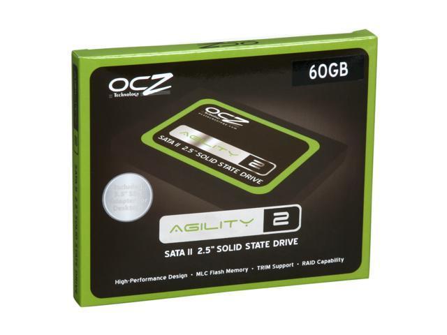 "OCZ Agility 2 2.5"" 60GB SATA II MLC Internal Solid State Drive (SSD) OCZSSD2-2AGTE60G"