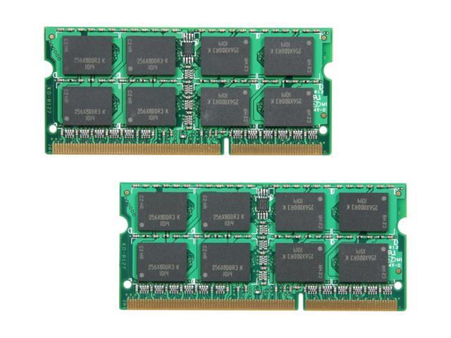 OCZ 8GB (2 x 4GB) 204-Pin DDR3 SO-DIMM DDR3 1333 (PC3 10666) Laptop Memory Model OCZ3M13338GK