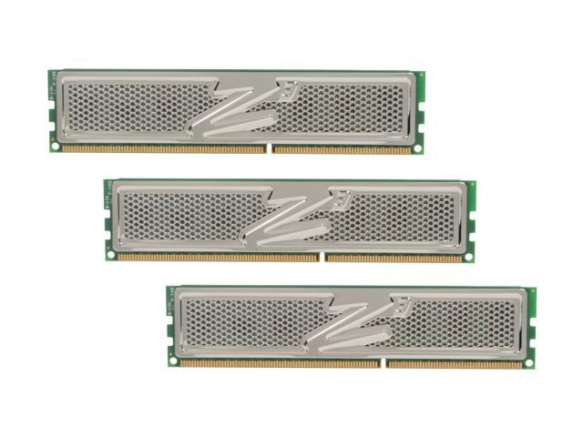OCZ Platinum 6GB (3 x 2GB) 240-Pin DDR3 SDRAM DDR3 1600 (PC3 12800) Desktop Memory Model OCZ3P1600C6LV6GK