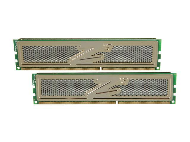 OCZ Gold 4GB (2 x 2GB) 240-Pin DDR3 SDRAM DDR3 1333 (PC3 10600) Desktop Memory Model OCZ3G1333LV4GK.NE