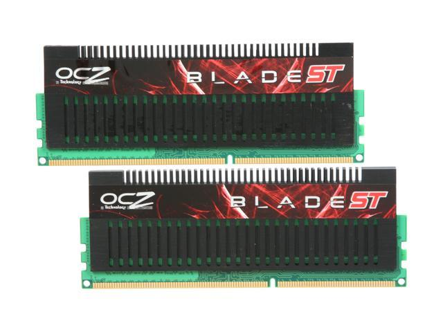 OCZ Blade SuperTuned 4GB (2 x 2GB) 240-Pin DDR3 SDRAM DDR3 1600 (PC3 12800) Desktop Memory Model OCZ3BST1600LV4GK