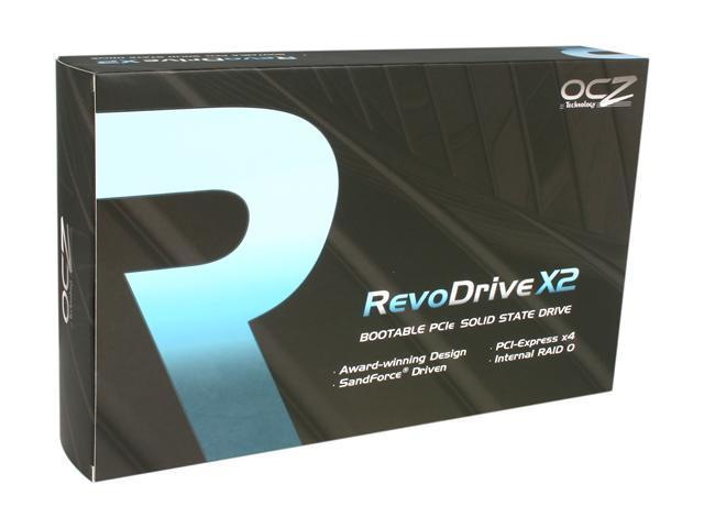 OCZ RevoDrive X2 PCI-E 100GB PCI-Express x4 MLC Internal Solid State Drive (SSD) OCZSSDPX-1RVDX0100