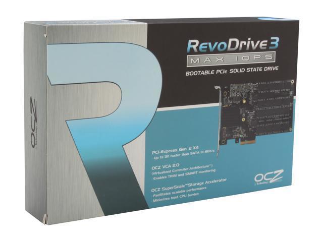 OCZ RevoDrive 3 Max IOPS PCI-E 240GB PCI-Express 2.0 x4 MLC Internal Solid State Drive (SSD) RVD3MI-FHPX4-240G