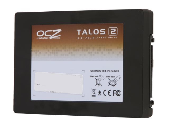 "OCZ Talos 2 R Series 2.5"" Dual-Port SAS 6.0 Gbit/s (Full Duplex/Active-Active) Synchronous Mode Multi-Level Cell (MLC) TL2RSAK2G2M1X-0800 - OEM"