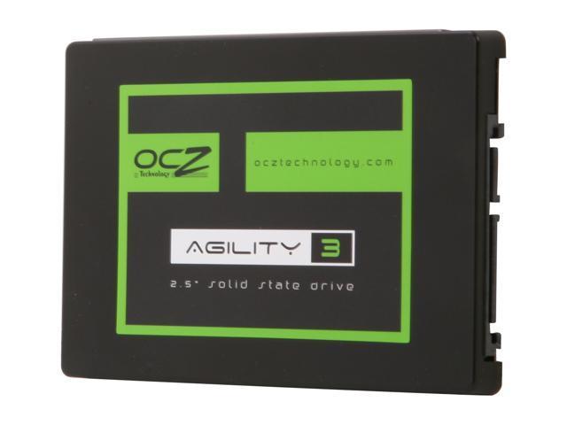 "OCZ Agility 3 2.5"" 180GB SATA III MLC Internal Solid State Drive (SSD) AGT3-25SAT3-180G"