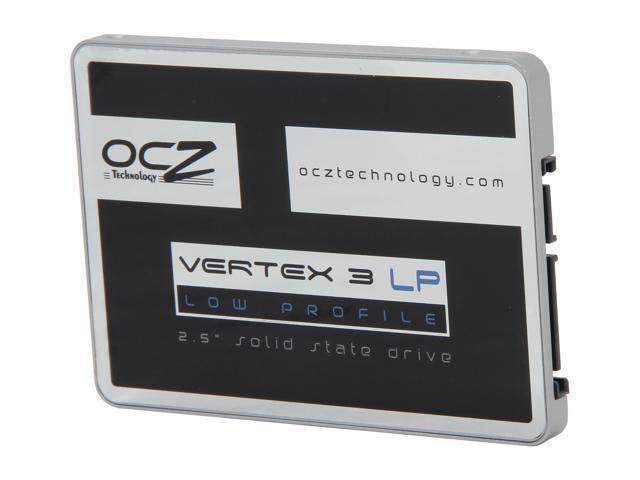 """OCZ Vertex 3 Low Profile 7mm Series 2.5"""" 240GB SATA III MLC Internal Solid State Drive (SSD) VTX3LP-25SAT3-240G"""