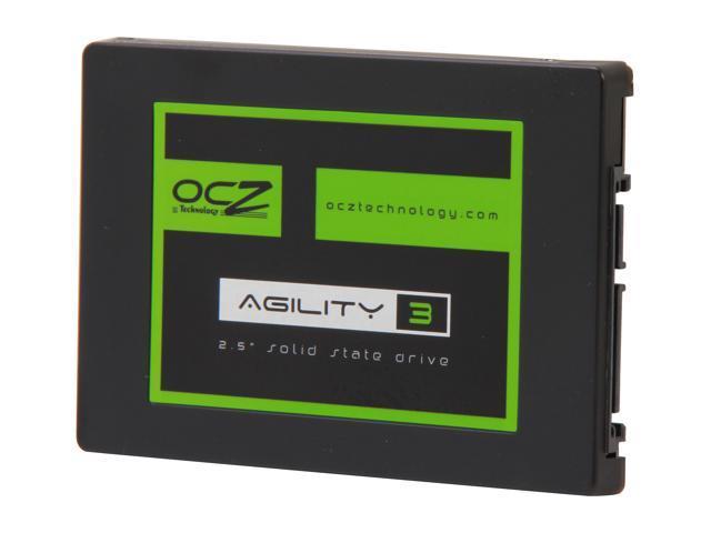 "OCZ Agility 3 2.5"" 128GB SATA III MLC Internal Solid State Drive (SSD) AGT3-25SAT3-128G"