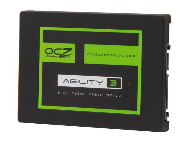"OCZ Agility 3 2.5"" 256GB SATA III MLC Internal Solid State Drive (SSD) AGT3-25SAT3-256G"