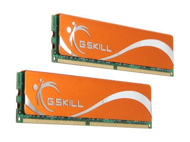 G.SKILL 4GB (2 x 2GB) 240-Pin DDR2 SDRAM DDR2 667 (PC2 5300) Dual Channel Kit Desktop Memory Model F2-5300CL5D-4GBMQ