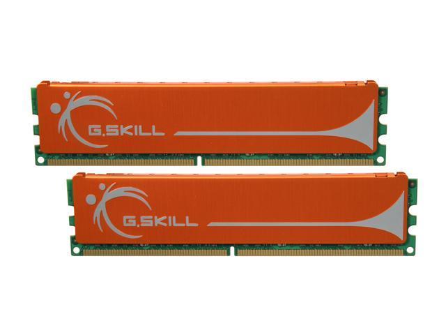 G.SKILL 4GB (2 x 2GB) 240-Pin DDR2 SDRAM DDR2 800 (PC2 6400) Dual Channel Kit Desktop Memory Model F2-6400CL6D-4GBMQ