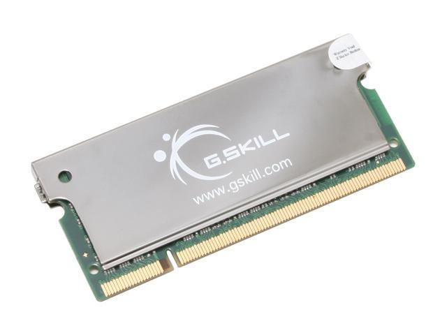 G.SKILL 2GB 200-Pin DDR2 SO-DIMM DDR2 667 (PC2 5300) Laptop Memory Model F2-5300CL5S-2GBSA