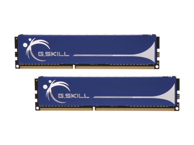 G.SKILL 2GB (2 x 1GB) 240-Pin DDR3 SDRAM DDR3 1333 (PC3 10600) Dual Channel Kit Desktop Memory Model F3-10600CL8D-2GBHK