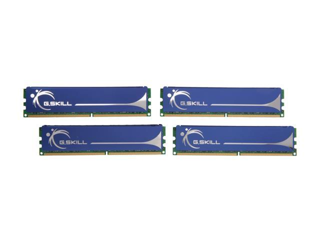 G.SKILL 8GB (4 x 2GB) 240-Pin DDR2 SDRAM DDR2 800 (PC2 6400) Quad Kit Desktop Memory Model F2-6400CL5Q-8GBPQ