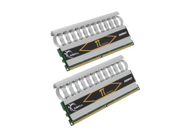 G.SKILL 2GB (2 x 1GB) 240-Pin DDR2 SDRAM DDR2 1066 (PC2 8500) Dual Channel Kit Desktop Memory Model F2-8500CL5D-2GBPI