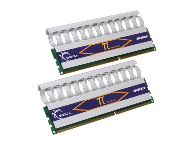 G.SKILL 2GB (2 x 1GB) 240-Pin DDR3 SDRAM DDR3 1333 (PC3 10600) Dual Channel Kit Desktop Memory Model F3-10600CL7D-2GBPI