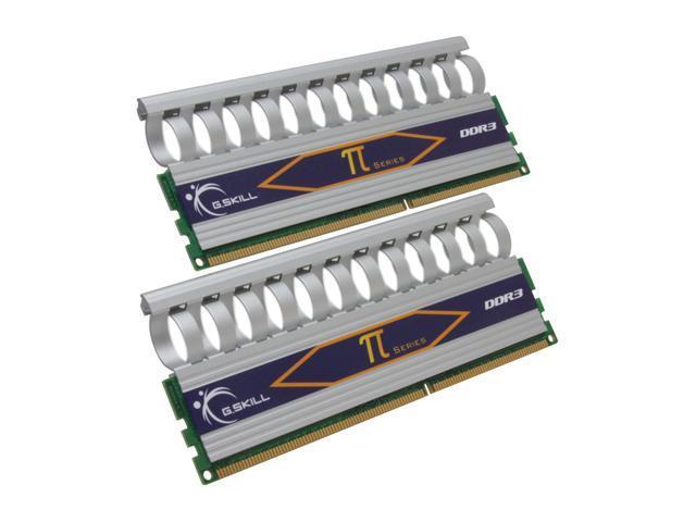 G.SKILL 2GB (2 x 1GB) 240-Pin DDR3 SDRAM DDR3 1800 (PC3 14400) Dual Channel Kit Desktop Memory Model F3-14400CL8D-2GBPI