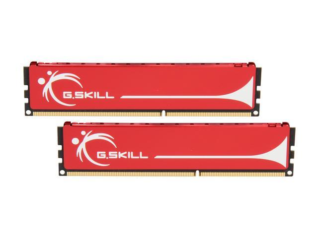 G.SKILL 2GB (2 x 1GB) 240-Pin DDR3 SDRAM DDR3 1333 (PC3 10666) Dual Channel Kit Desktop Memory Model F3-10666CL9D-2GBNQ