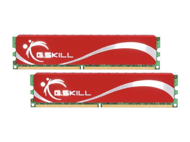 G.SKILL 4GB (2 x 2GB) 240-Pin DDR2 SDRAM DDR2 1066 (PC2 8500) Dual Channel Kit Desktop Memory Model F2-8500CL6D-4GBNQ