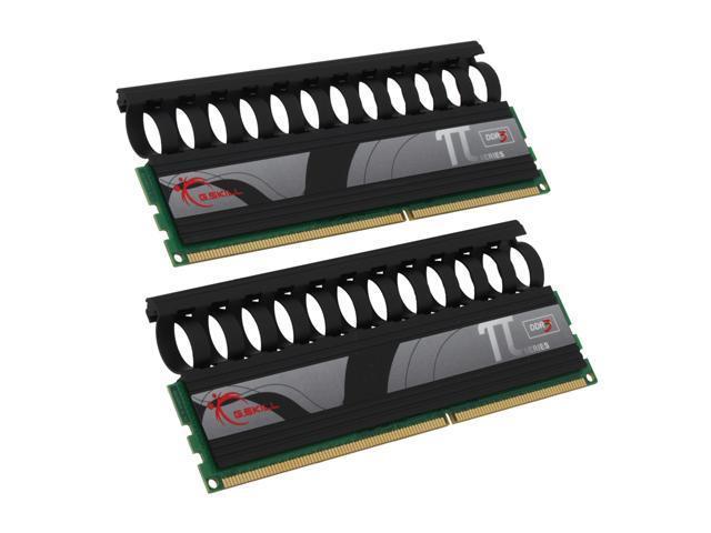 G.SKILL 2GB (2 x 1GB) 240-Pin DDR3 SDRAM DDR3 2000 (PC3 16000) Dual Channel Kit Desktop Memory Model F3-16000CL9D-2GBPI-B
