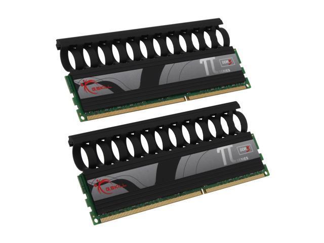 G.SKILL 4GB (2 x 2GB) 240-Pin DDR3 SDRAM DDR3 2000 (PC3 16000) Dual Channel Kit Desktop Memory Model F3-16000CL9D-4GBPI-B
