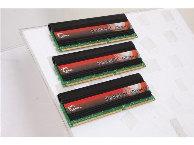 G.SKILL Perfect Storm 6GB (3 x 2GB) 240-Pin DDR3 SDRAM DDR3 2000 (PC3 16000) Desktop Memory Model F3-16000CL9T-6GBPS