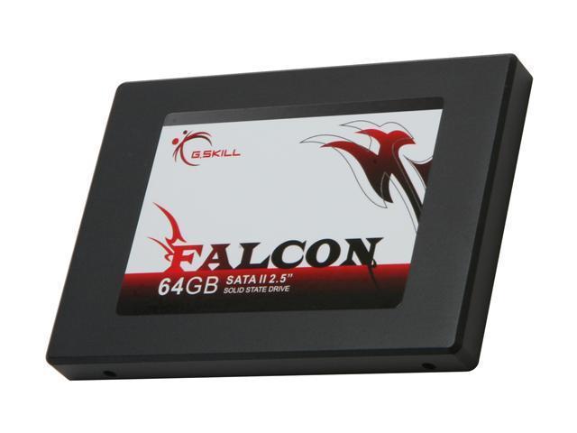 """G.SKILL FALCON 2.5"""" 64GB SATA II MLC Internal Solid State Drive (SSD) FM-25S2S-64GBF1"""