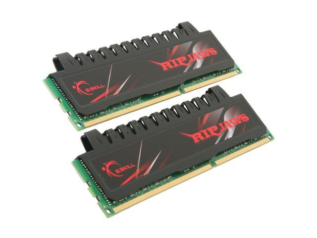 G.SKILL Ripjaws Series 4GB (2 x 2GB) 240-Pin DDR3 SDRAM DDR3 1600 (PC3 12800) Desktop Memory Model F3-12800CL7D-4GBRH