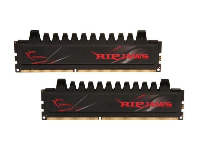 G.SKILL Ripjaws Series 4GB (2 x 2GB) 240-Pin DDR3 SDRAM DDR3 2000 (PC3 16000) Desktop Memory Model F3-16000CL9D-4GBRH