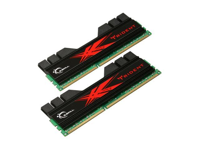 G.SKILL Trident 4GB (2 x 2GB) 240-Pin DDR3 SDRAM DDR3 2000 (PC3 16000) Desktop Memory Model F3-16000CL9D-4GBTD