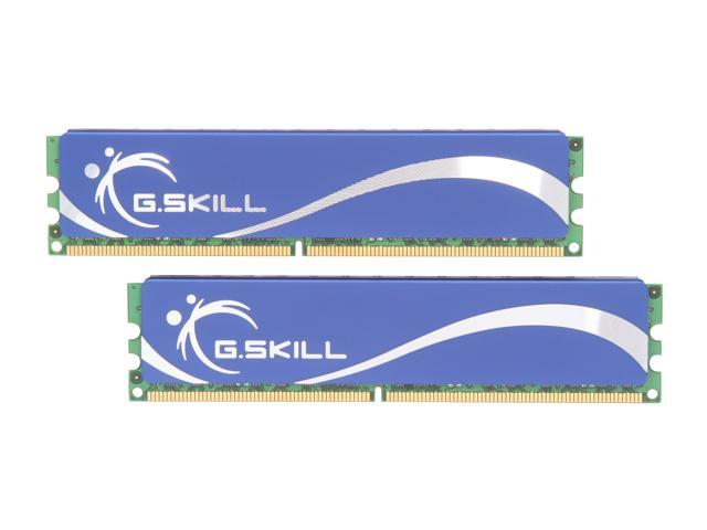 G.SKILL 8GB (2 x 4GB) 240-Pin DDR2 SDRAM DDR2 800 (PC2 6400) Desktop Memory Model F2-6400CL5D-8GBPQ