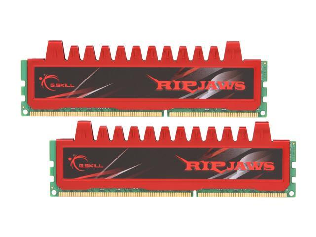 G.SKILL Ripjaws Series 8GB (2 x 4GB) 240-Pin DDR3 SDRAM DDR3 1333 (PC3 10666) Desktop Memory Model F3-10666CL9D-8GBRL