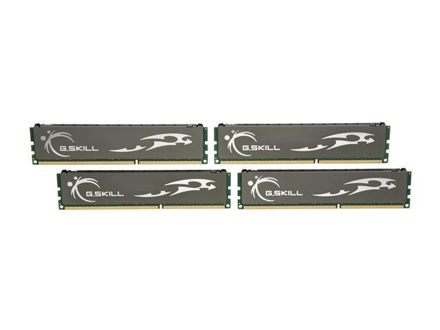 G.SKILL ECO 8GB (4 x 2GB) 240-Pin DDR3 SDRAM DDR3L 1600 (PC3L 12800) Desktop Memory Model F3-12800CL9Q-8GBECO