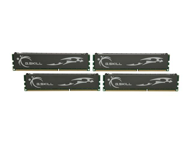 G.SKILL ECO 8GB (4 x 2GB) 240-Pin DDR3 SDRAM DDR3L 1600 (PC3L 12800) Desktop Memory Model F3-12800CL8Q-8GBECO