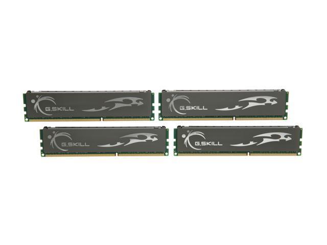 G.SKILL ECO 8GB (4 x 2GB) 240-Pin DDR3 SDRAM DDR3 1600 (PC3 12800) Desktop Memory Model F3-12800CL7Q-8GBECO