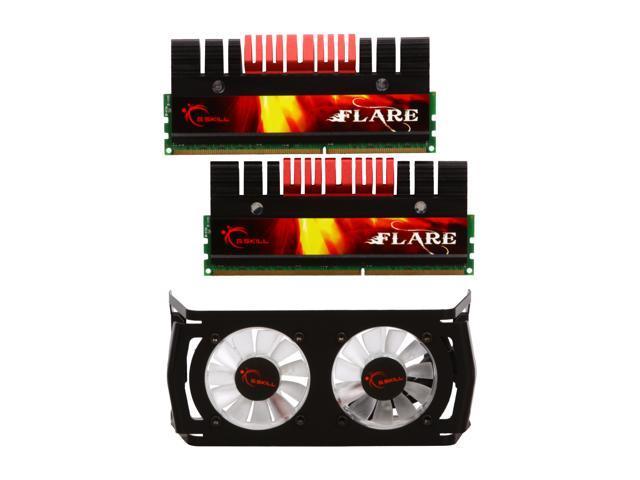 G.SKILL Flare 4GB (2 x 2GB) 240-Pin DDR3 SDRAM DDR3 1800 (PC3 14400) Desktop Memory Model F3-14400CL9D-4GBFLS