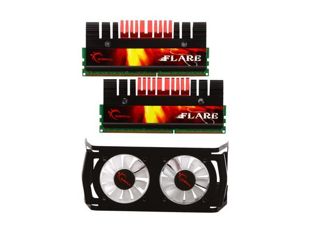 G.SKILL Flare 4GB (2 x 2GB) 240-Pin DDR3 SDRAM DDR3 2000 (PC3 16000) Desktop Memory Model F3-16000CL7D-4GBFLS