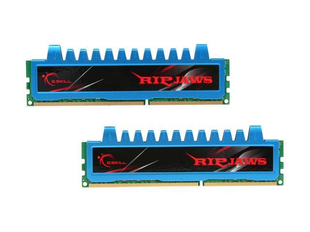 G.SKILL Ripjaws Series 8GB (2 x 4GB) 240-Pin DDR3 SDRAM DDR3 2000 (PC3 16000) Desktop Memory Model F3-16000CL9D-8GBRM