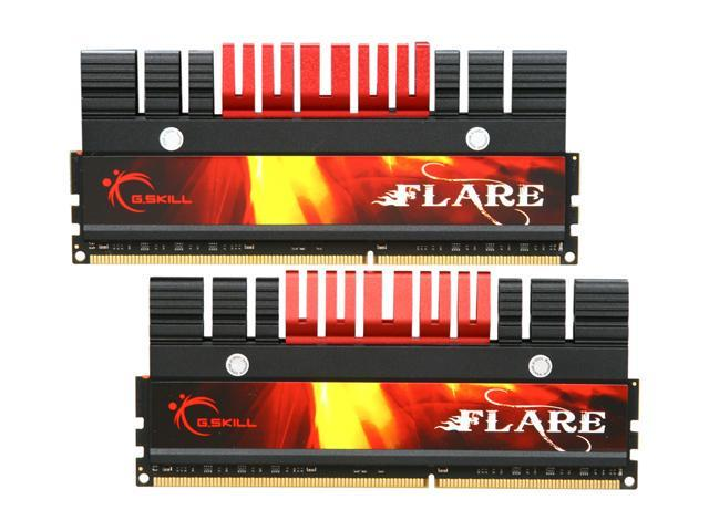 G.SKILL Flare Series 8GB (2 x 4GB) 240-Pin DDR3 SDRAM DDR3 2000 (PC3 16000) Desktop Memory Model F3-16000CL9D-8GBFL