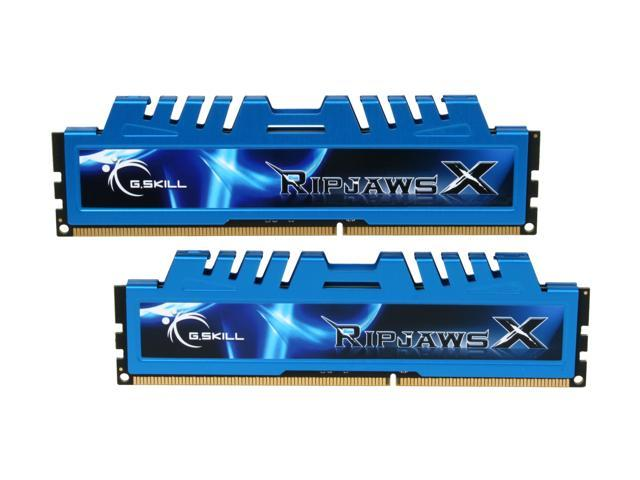 G.SKILL Ripjaws X Series 4GB (2 x 2GB) 240-Pin DDR3 SDRAM DDR3 1600 (PC3 12800) Desktop Memory Model F3-12800CL8D-4GBXM