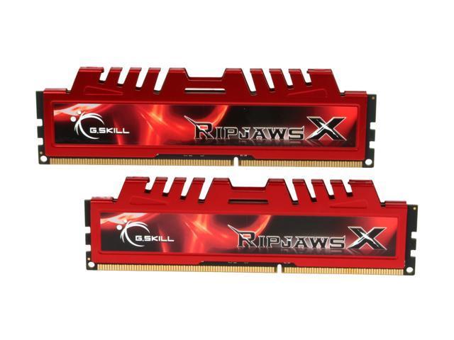 G.SKILL Ripjaws X Series 4GB (2 x 2GB) 240-Pin DDR3 SDRAM DDR3 2133 (PC3 17000) Desktop Memory Model F3-17000CL9D-4GBXL