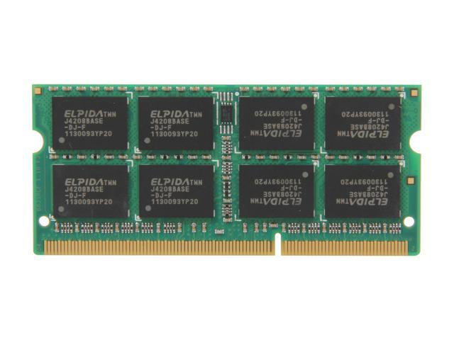 G.SKILL 8GB 204-Pin DDR3 SO-DIMM DDR3 1333 (PC3 10600) Laptop Memory Model F3-10600CL9S-8GBSQ