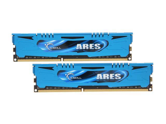G.SKILL Ares Series 8GB (2 x 4GB) 240-Pin DDR3 SDRAM DDR3 1600 (PC3 12800) Desktop Memory Model F3-1600C8D-8GAB