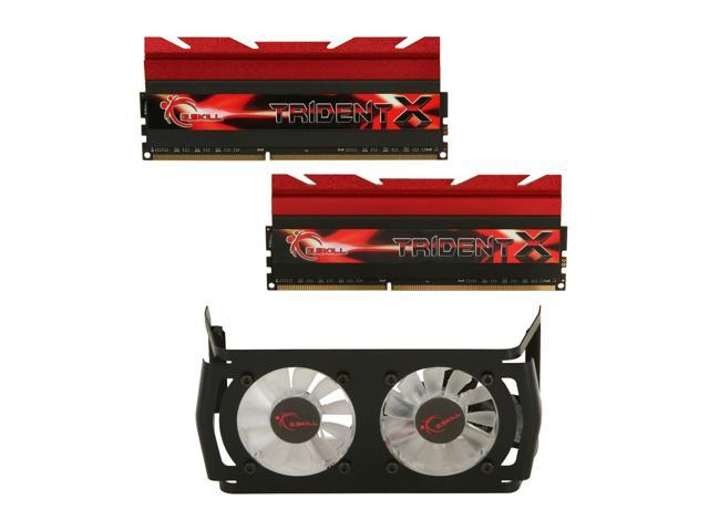 G.SKILL TridentX Series 8GB (2 x 4GB) 240-Pin DDR3 SDRAM DDR3 2600 (PC3 20800) Desktop Memory Model F3-2600C10D-8GTXD