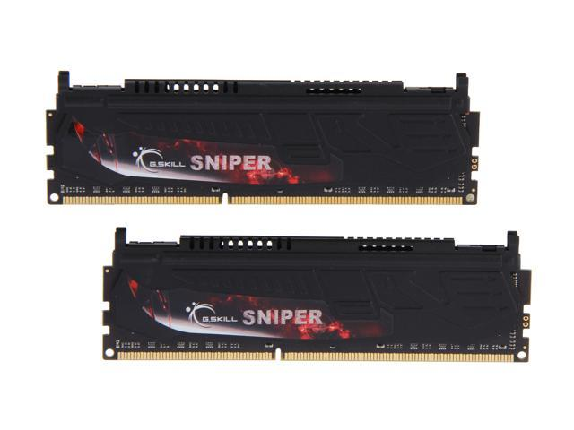 G.SKILL Sniper Gaming Series 16GB (2 x 8GB) 240-Pin DDR3 SDRAM DDR3 1866 (PC3 14900) Desktop Memory Model F3-1866C10D-16GSR
